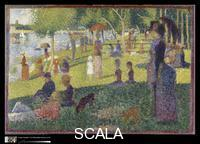 Seurat, Georges (1859-1891) Study for 'A Sunday on La Grande Jatte', 1884-85