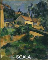Cezanne, Paul (1839-1906) Turning Road at Montgeroult, 1898