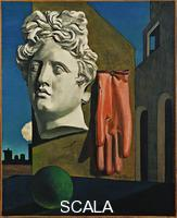 De Chirico, Giorgio (1888-1978) The Song of Love, 1914