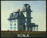 Hopper, Edward (1882-1967) House by the Railroad, 1925