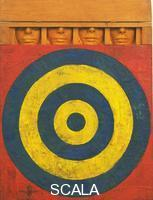 Johns, Jasper (b. 1930) Target with Four Faces, 1955