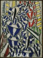 Leger, Fernand (1881-1955) Exit the Ballets Russes, 1914