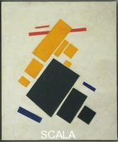 Malevic, Kasimir (1878-1935) Suprematist Composition: Airplane Flying (1914-15)