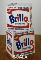 Warhol, Andy (1928-1987) Brillo Box, 1964, Serigraphie , 43,5 x 43,2 x 36,5 cm, Museum of Modern Art, New York