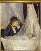 Morisot, Berthe (1841-1895) The Crib